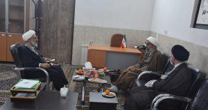 جلسه هماهنگی  ائمه جمعه خوانسار، گلپایگان و گلشهربا موضوع «قرارگاه مواسات»