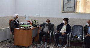 دیدار شورای محترم روستایی در با امام جمعه محترم شهرستان برای رفع مشکلات مردم