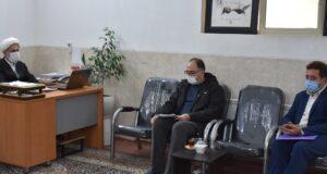 دیدار اعضای شهرداری گلپایگان با امام جمعه محترم شهرستان
