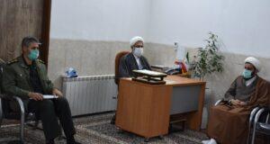 گزارش تصویری از نشست روحانیون و دانشجویان به مناسبت روز وحدت حوزه و دانشگاه